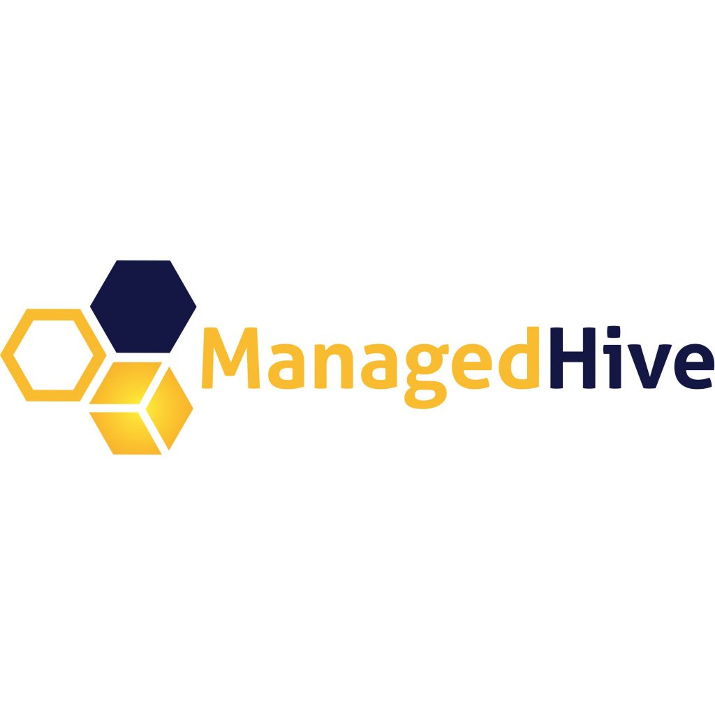 """Logo for """"Managed Hive"""". – Solio   Giedrė Beckker"""
